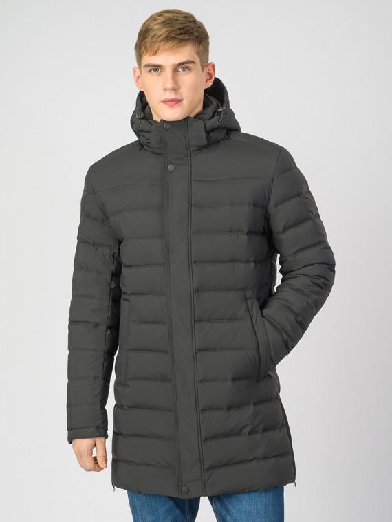 Пуховик текстиль, цвет черный, арт. 18006782  - цена 4490 руб.  - магазин TOTOGROUP