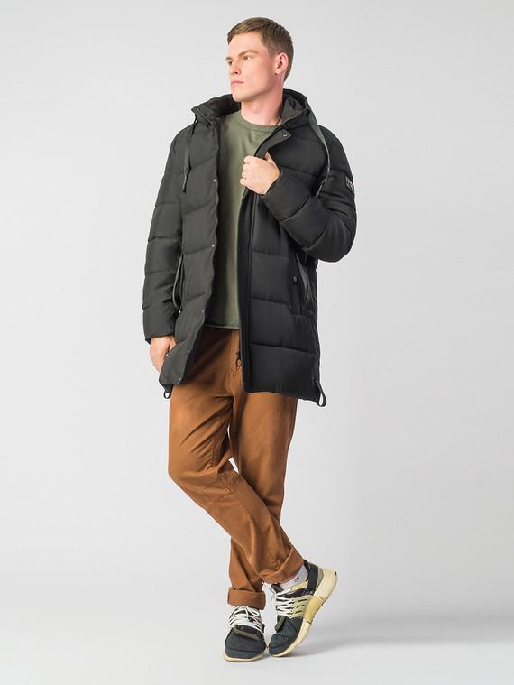 Пуховик текстиль, цвет черный, арт. 18006788  - цена 5590 руб.  - магазин TOTOGROUP
