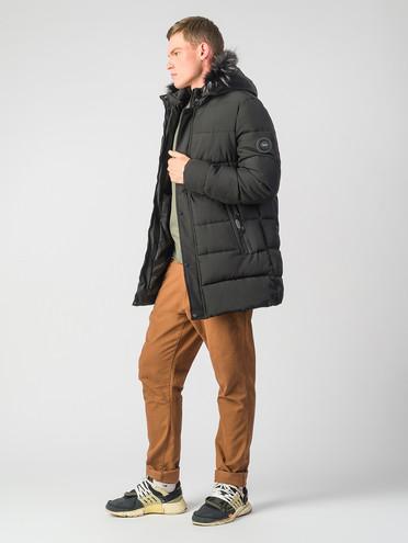 Пуховик текстиль, цвет черный, арт. 18006793  - цена 4260 руб.  - магазин TOTOGROUP