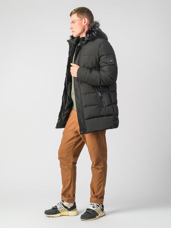 Пуховик текстиль, цвет черный, арт. 18006793  - цена 4990 руб.  - магазин TOTOGROUP