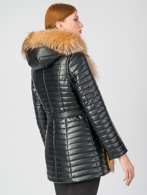 Кожаная куртка артикул 18006845/48 - фото 3