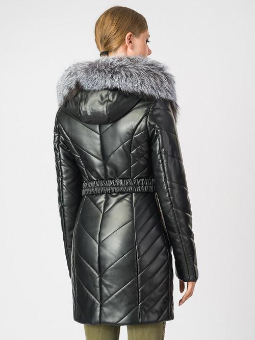 Кожаная куртка артикул 18006876/42 - фото 3