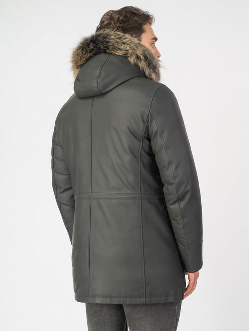 Кожаная куртка артикул 18006898/48 - фото 3
