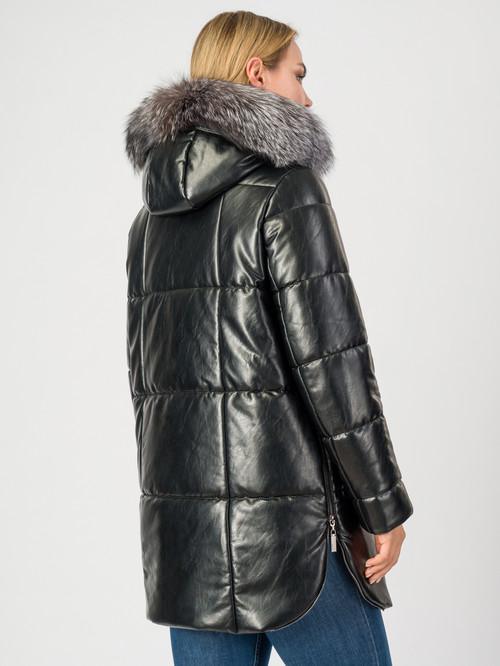 Кожаное пальто артикул 18006974/42 - фото 3