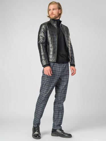 Кожаная куртка эко-кожа 100% П/А, цвет черный, арт. 18007065  - цена 3990 руб.  - магазин TOTOGROUP