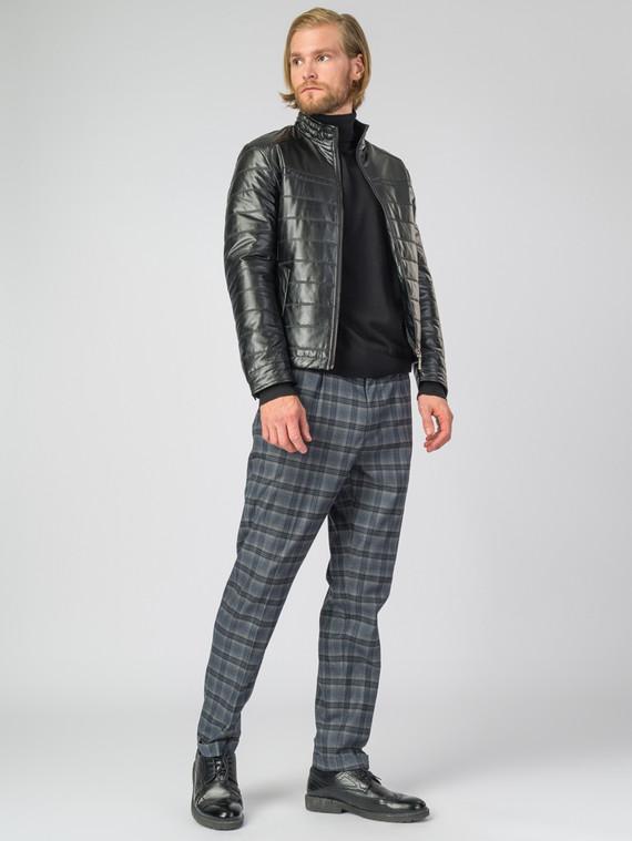 Кожаная куртка эко-кожа 100% П/А, цвет черный, арт. 18007065  - цена 3590 руб.  - магазин TOTOGROUP