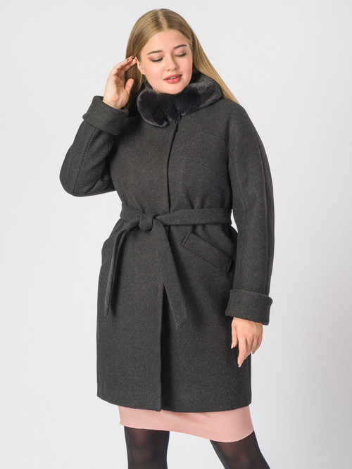 Текстильное пальто артикул 18007110/48 - фото 2
