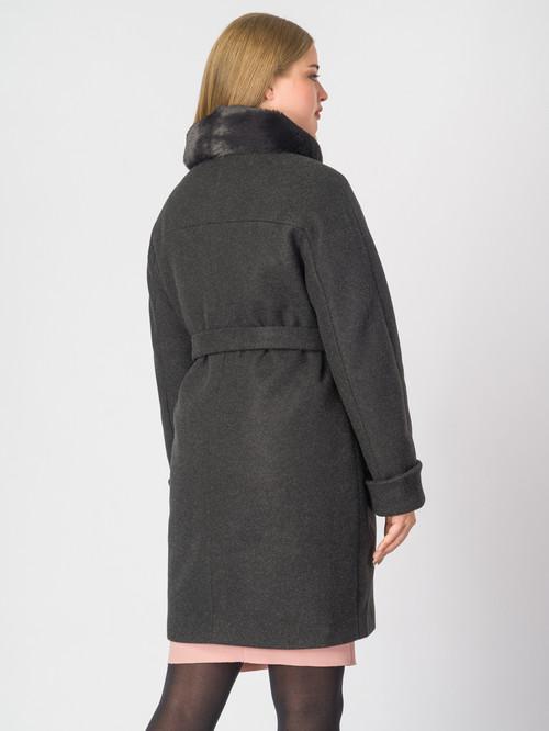 Текстильное пальто артикул 18007110/48 - фото 3