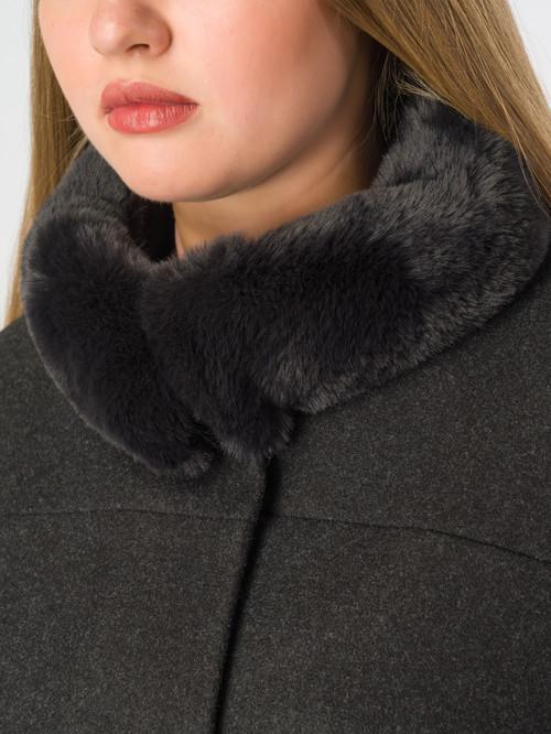 Текстильное пальто артикул 18007110/48 - фото 4