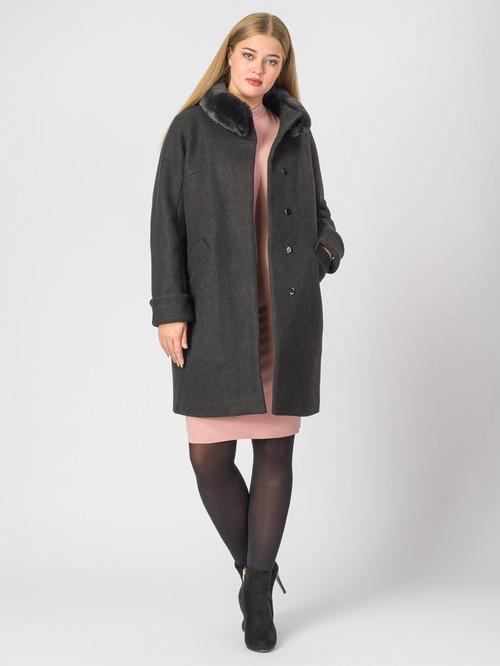 Текстильное пальто артикул 18007110/48