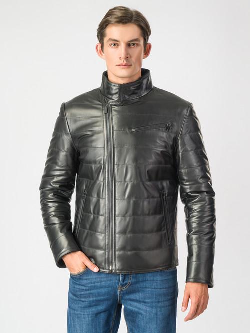 Кожаная куртка артикул 18007119/48 - фото 2