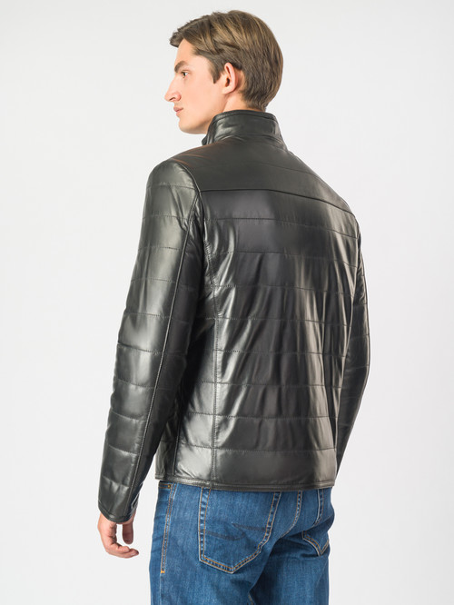 Кожаная куртка артикул 18007119/48 - фото 3