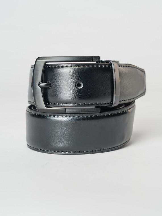 Ремень кожа корова, цвет черный, арт. 18007239  - цена 990 руб.  - магазин TOTOGROUP