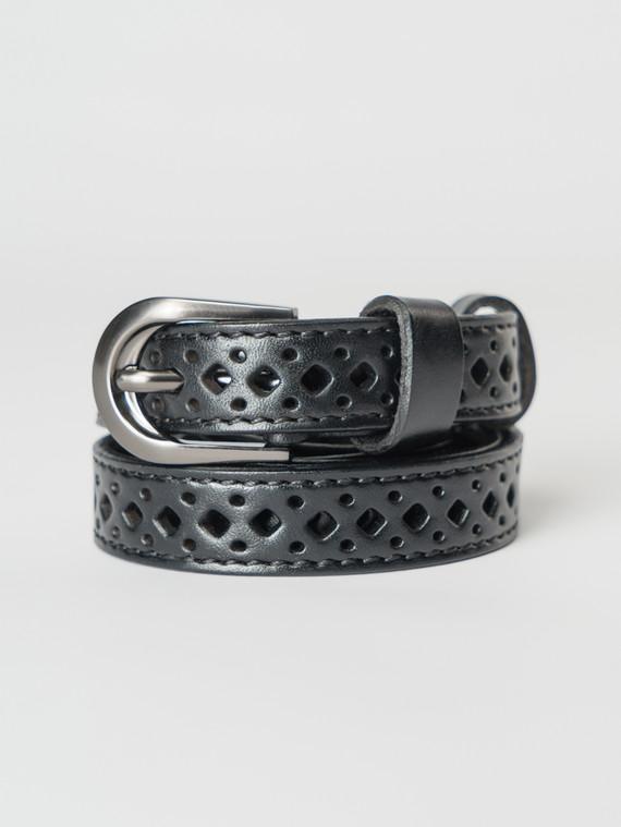 Ремень кожа теленок, цвет черный, арт. 18007257  - цена 1130 руб.  - магазин TOTOGROUP