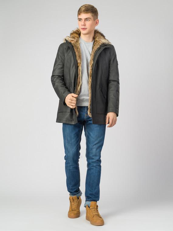 Кожаное пальто кожа , цвет черный, арт. 18007276  - цена 22690 руб.  - магазин TOTOGROUP
