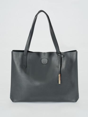 Сумка эко-кожа флоттер, цвет черный, арт. 18007323  - цена 2060 руб.  - магазин TOTOGROUP