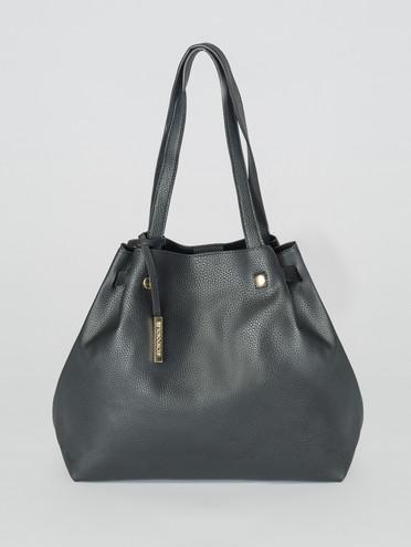 Сумка эко-кожа флоттер, цвет черный, арт. 18007326  - цена 1750 руб.  - магазин TOTOGROUP