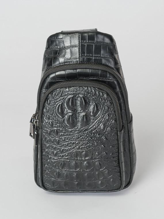 Сумка кожа корова, цвет черный, арт. 18007347  - цена 4490 руб.  - магазин TOTOGROUP