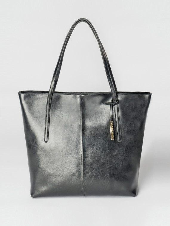 Сумка кожа теленок, цвет черный, арт. 18007351  - цена 5890 руб.  - магазин TOTOGROUP