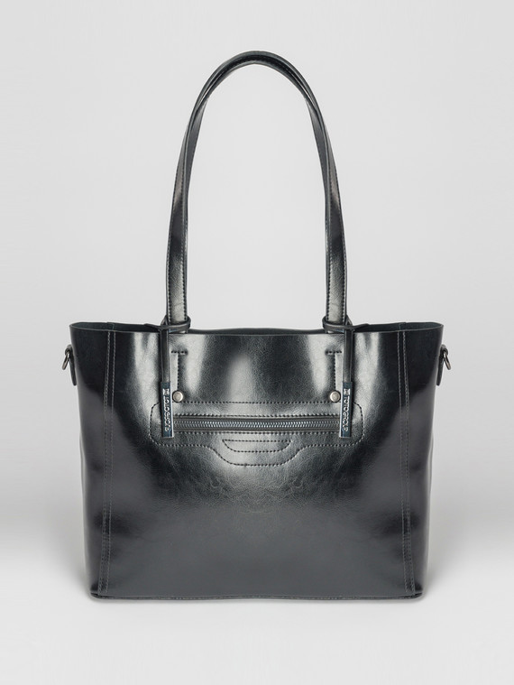 Сумка кожа теленок, цвет черный, арт. 18007367  - цена 5890 руб.  - магазин TOTOGROUP