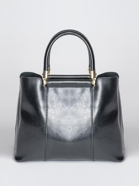 Сумка кожа теленок, цвет черный, арт. 18007377  - цена 5890 руб.  - магазин TOTOGROUP