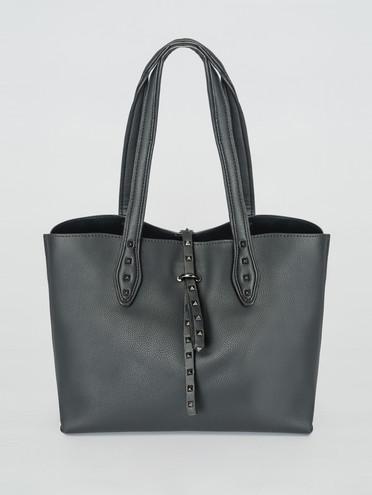 Сумка эко-кожа 100% П/А, цвет черный, арт. 18007427  - цена 2690 руб.  - магазин TOTOGROUP