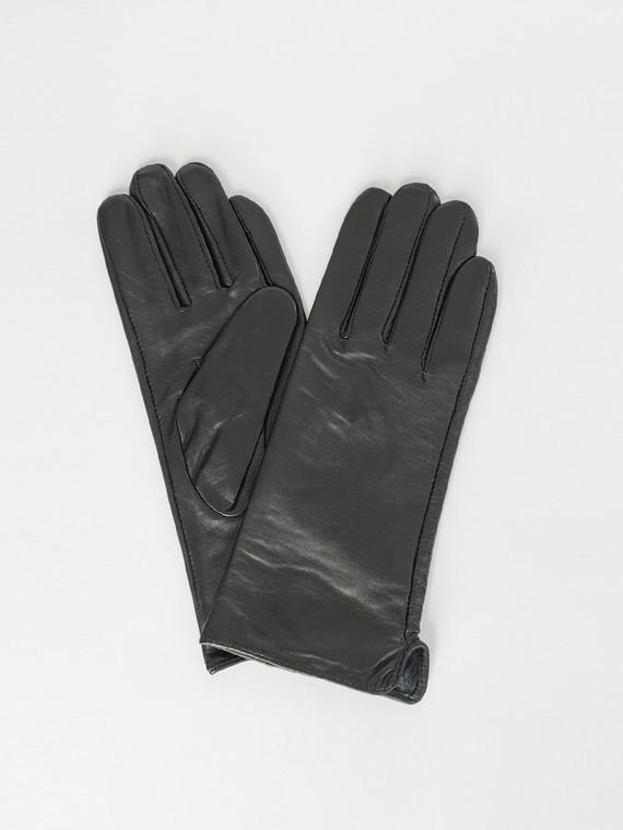 Перчатки кожа , цвет черный, арт. 18007501  - цена 840 руб.  - магазин TOTOGROUP