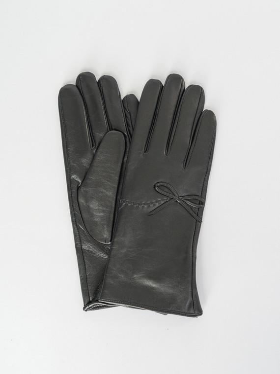 Перчатки кожа , цвет черный, арт. 18007512  - цена 1130 руб.  - магазин TOTOGROUP