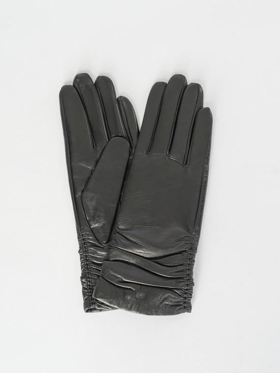 Перчатки кожа , цвет черный, арт. 18007528  - цена 1850 руб.  - магазин TOTOGROUP