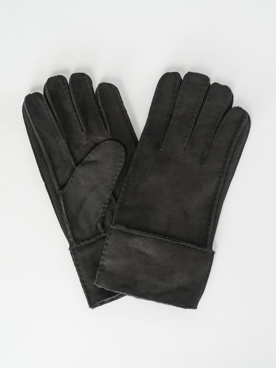 Перчатки дуб. овчина, цвет черный, арт. 18007546  - цена 1190 руб.  - магазин TOTOGROUP