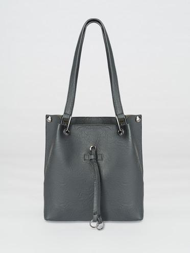 Сумка эко-кожа 100% П/А, цвет черный, арт. 18007710  - цена 2550 руб.  - магазин TOTOGROUP