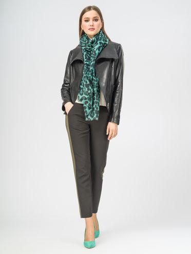 Кожаная куртка кожа , цвет черный, арт. 18106267  - цена 11290 руб.  - магазин TOTOGROUP