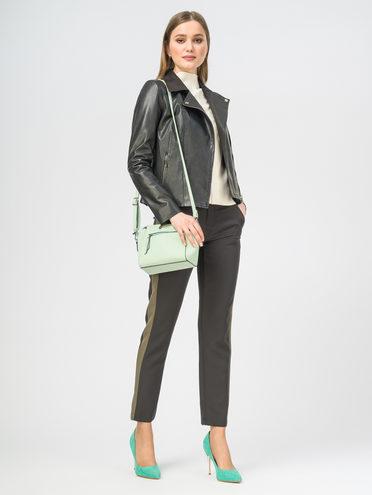 Кожаная куртка кожа , цвет черный, арт. 18106309  - цена 9990 руб.  - магазин TOTOGROUP