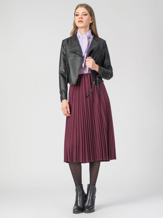 Кожаная куртка эко-кожа 100% П/А, цвет черный, арт. 18107825  - цена 3790 руб.  - магазин TOTOGROUP
