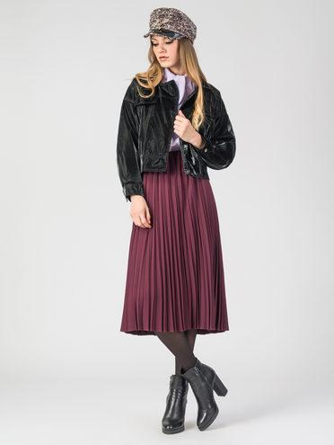 Кожаная куртка эко-кожа 100% П/А, цвет черный, арт. 18107834  - цена 2550 руб.  - магазин TOTOGROUP