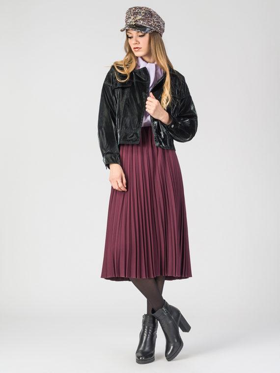 Кожаная куртка эко-кожа 100% П/А, цвет черный, арт. 18107834  - цена 4990 руб.  - магазин TOTOGROUP