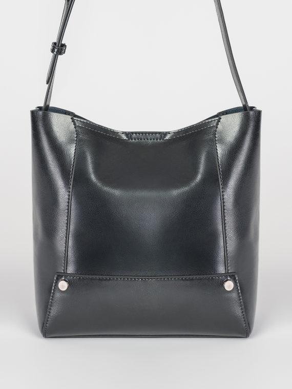 Сумка кожа теленок, цвет черный, арт. 18107842  - цена 3990 руб.  - магазин TOTOGROUP