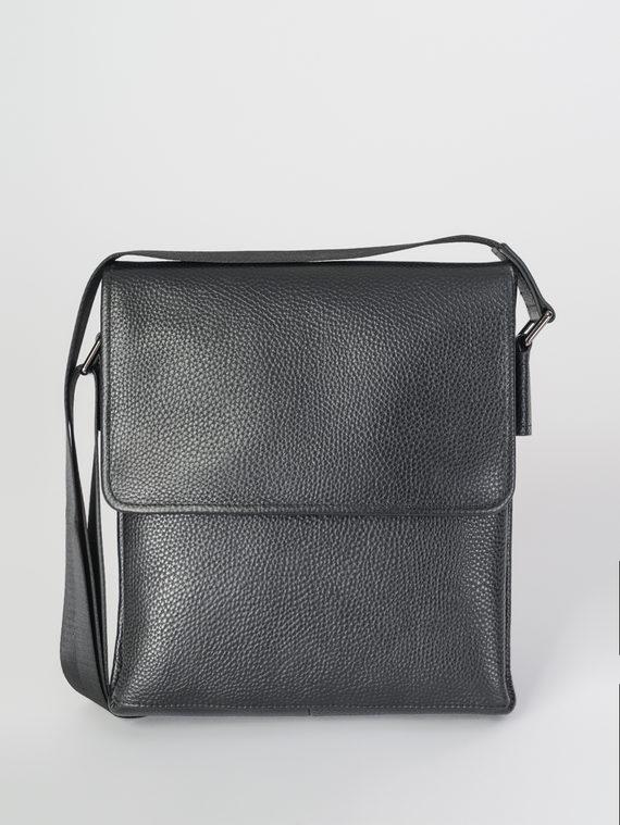Сумка кожа теленок, цвет черный, арт. 18107870  - цена 5890 руб.  - магазин TOTOGROUP