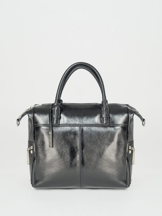 Сумка кожа теленок, цвет черный, арт. 18107874  - цена 4740 руб.  - магазин TOTOGROUP