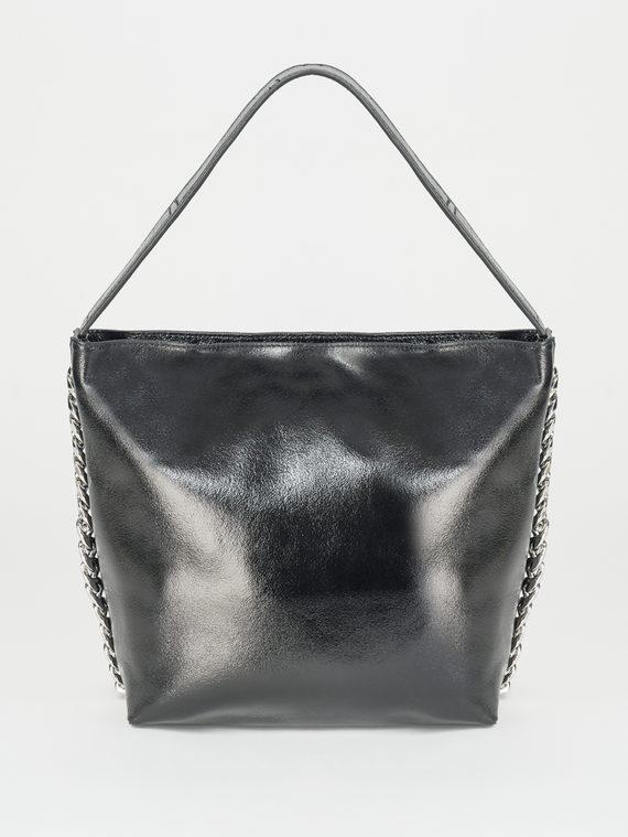 Сумка кожа теленок, цвет черный, арт. 18107875  - цена 3990 руб.  - магазин TOTOGROUP