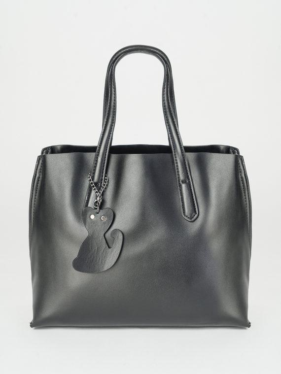 Сумка кожа теленок, цвет черный, арт. 18107876  - цена 4490 руб.  - магазин TOTOGROUP