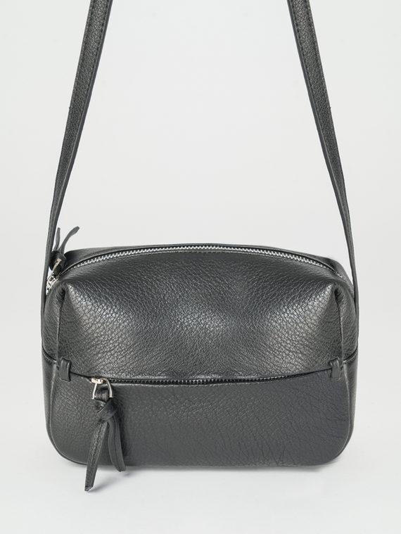 Сумка кожа теленок, цвет черный, арт. 18107879  - цена 3590 руб.  - магазин TOTOGROUP
