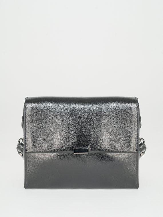 Сумка кожа теленок, цвет черный, арт. 18107883  - цена 3790 руб.  - магазин TOTOGROUP