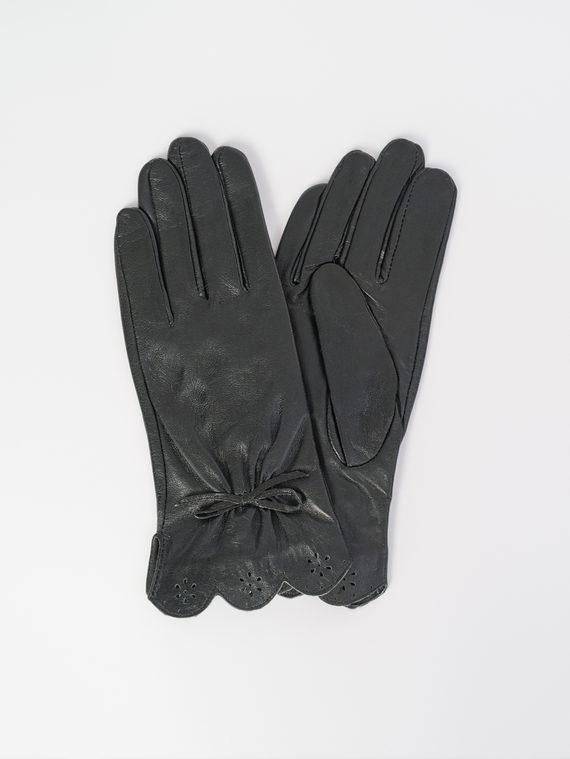 Перчатки кожа , цвет черный, арт. 18107956  - цена 590 руб.  - магазин TOTOGROUP