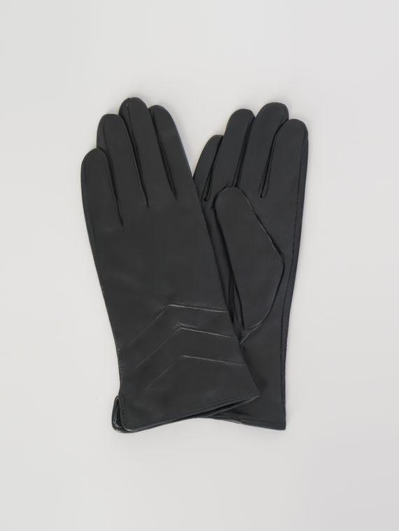 Перчатки кожа , цвет черный, арт. 18107960  - цена 890 руб.  - магазин TOTOGROUP