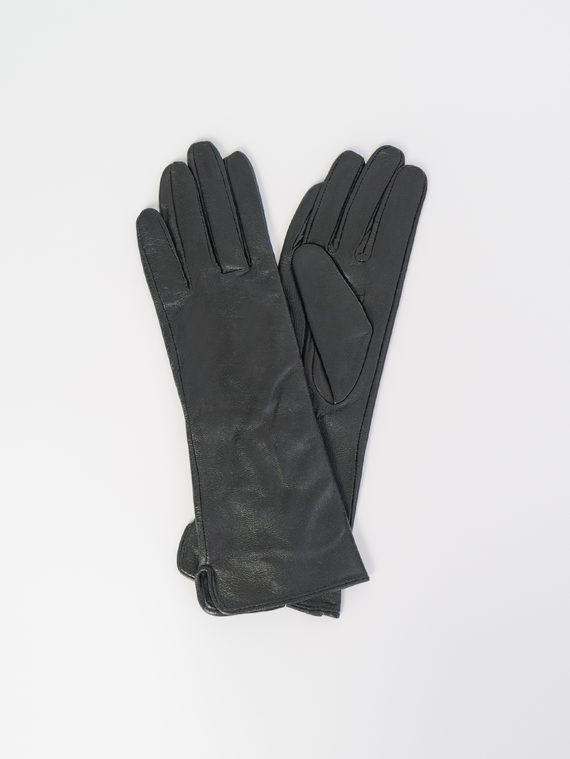 Перчатки кожа , цвет черный, арт. 18107966  - цена 1070 руб.  - магазин TOTOGROUP