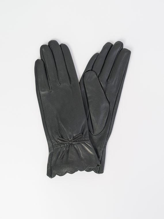 Перчатки кожа , цвет черный, арт. 18107968  - цена 1660 руб.  - магазин TOTOGROUP