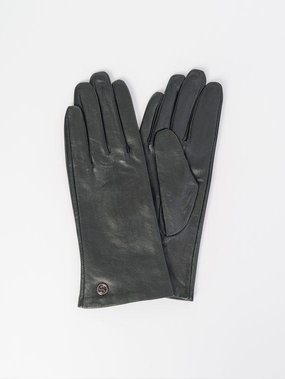 Перчатки кожа , цвет черный, арт. 18107970  - цена 1490 руб.  - магазин TOTOGROUP