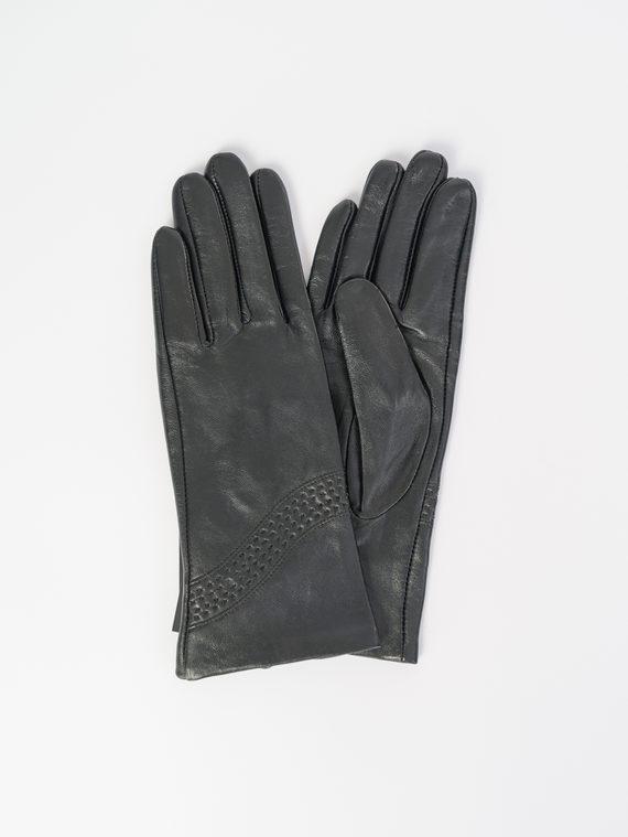 Перчатки кожа , цвет черный, арт. 18107971  - цена 1570 руб.  - магазин TOTOGROUP