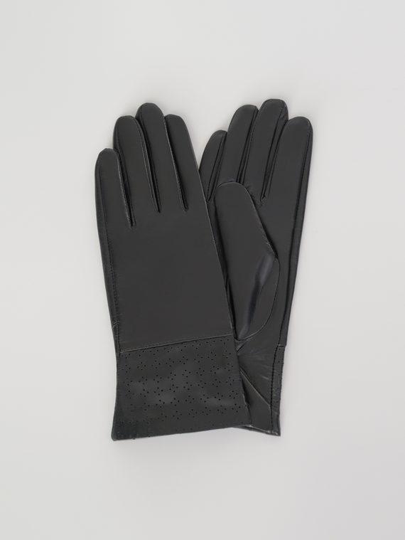 Перчатки кожа , цвет черный, арт. 18107972  - цена 1660 руб.  - магазин TOTOGROUP